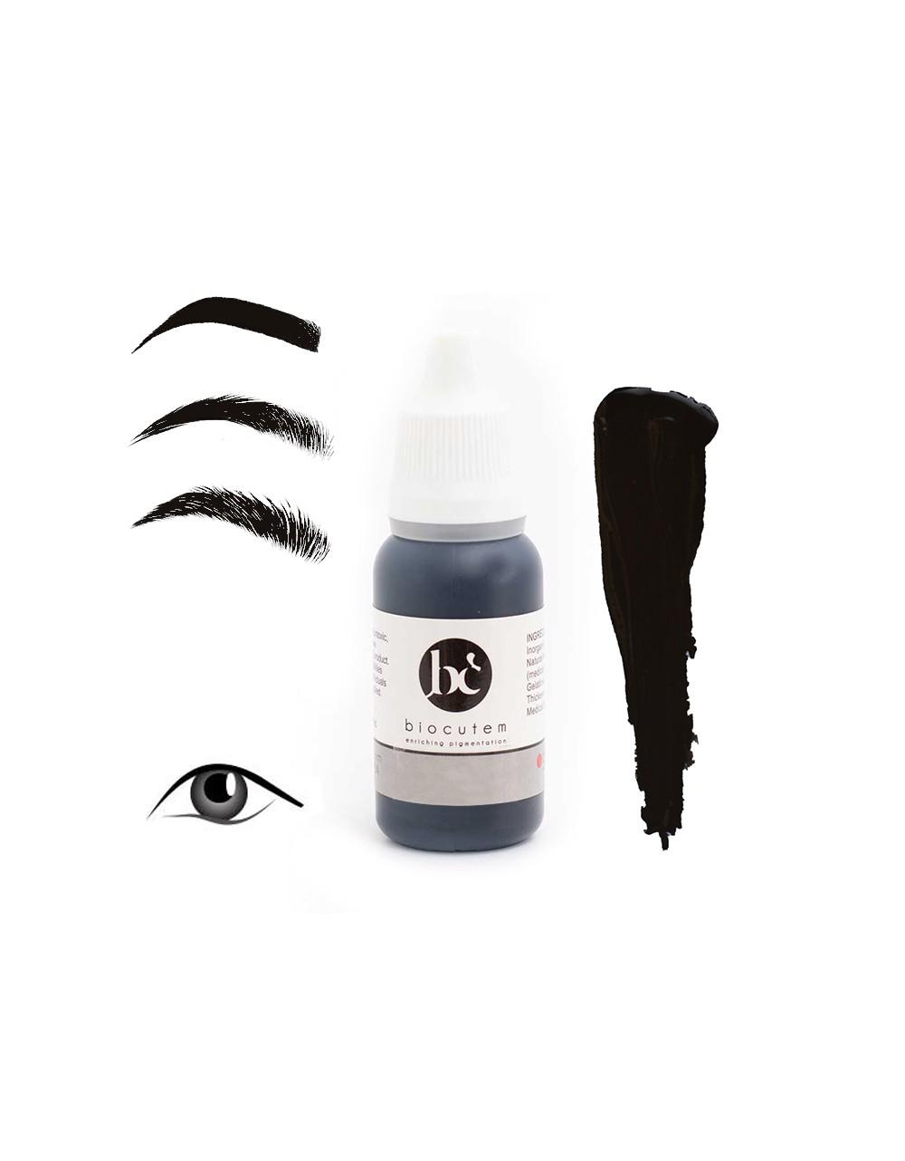 Micropigment cosmetic eyeliner BLACK